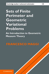 Sets of Finite Perimeter and Geometric Variational Problems by Francesco Maggi