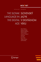 The Slovak Language in the Digital Age by Georg Rehm