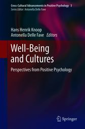 Well-Being and Cultures by Hans Henrik Knoop