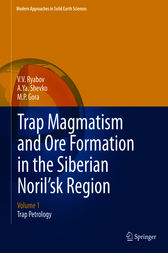 Trap Magmatism and Ore Formation in the Siberian Noril'sk Region by V.V. Ryabov