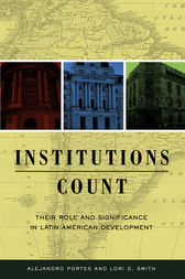 Institutions Count by Alejandro Portes