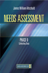 Needs Assessment Phase II by James W Altschuld