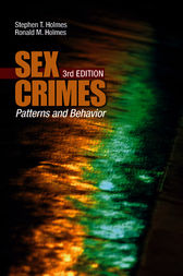 Current Perspectives on Sex Crimes by Ronald M. Holmes