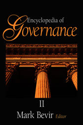 Encyclopedia of Governance by Mark Bevir