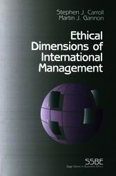 Ethical Dimensions of International Management by Stephen J. Carroll