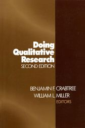 Doing Qualitative Research by Benjamin F. Crabtree