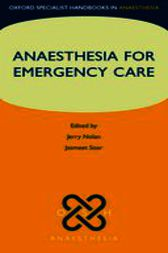Anaesthesia for Emergency Care by Jerry Nolan