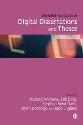 The SAGE Handbook of Digital Dissertations and Theses by Richard N.L. Andrews