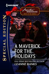A Maverick for the Holidays by Leanne Banks