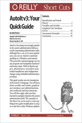 AutoIt v3: Your Quick Guide by Andy Flesner