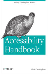 Accessibility Handbook by Katie Cunningham