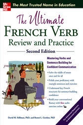 The Ultimate French Verb Review and Practice, 2nd Edition by David M. Stillman