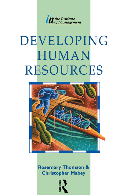 Download Ebook Developing Human Resources by Christopher Mabey Pdf