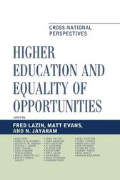 Higher Education and Equality of Opportunity by Fred Lazin