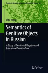 Semantics of Genitive Objects in Russian by Olga Kagan