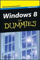 Windows 8 For Dummies, Pocket Edition by Andy Rathbone