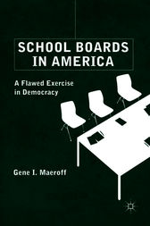 School Boards in America by Gene I. Maeroff