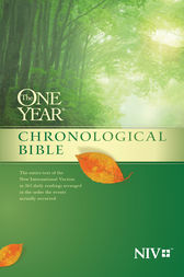 The One Year Chronological Bible NIV by Tyndale