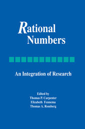 Rational Numbers by Thomas P. Carpenter