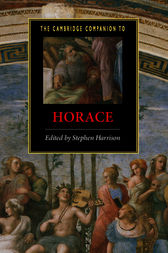 The Cambridge Companion to Horace by Stephen Harrison
