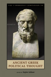 The Cambridge Companion to Ancient Greek Political Thought by Stephen Salkever