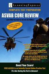 ASVAB: Core Review by LearningExpress LLC Editors