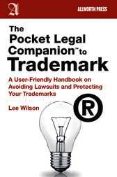 The Pocket Legal Companion to Trademark by Lee Wilson