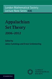 Appalachian Set Theory by James Cummings