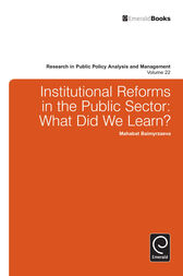 Institutional Reforms in the Public Sector by Mahabat Baimyrzaeva
