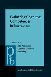 Evaluating Cognitive Competences in Interaction by Gitte Rasmussen