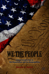 We the People by Donald C. Dahlin
