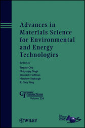 Advances in Materials Science for Environmental and Energy Technologies by Tatsuki Ohji