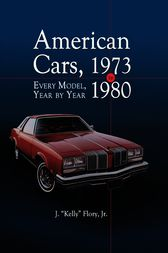 American Cars, 1973-1980 by J.Kelly Flory