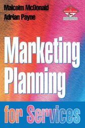Marketing Planning for Services by Adrian Payne