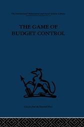 The Game of Budget Control by G. H. Hofstede