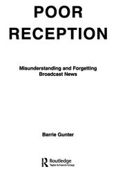 Poor Reception by Barrie Gunter