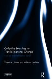 Collective Learning for Transformational Change by Valerie A. Brown