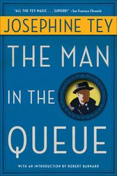 The Man in the Queue by Robert Barnard