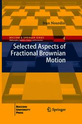 Selected Aspects of Fractional Brownian Motion by Ivan Nourdin