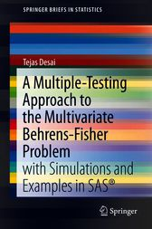 A Multiple-Testing Approach to the Multivariate Behrens-Fisher Problem by Tejas Desai
