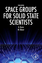 Space Groups for Solid State Scientists by Michael Glazer