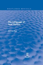 The Language of Jane Austen (Routledge Revivals) by Norman Page