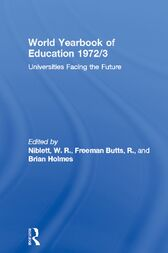 World Yearbook of Education 1972/3 by W. R. Niblett
