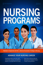 Nursing Programs 2014 by Peterson's