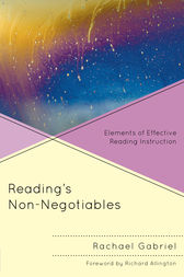 Reading's Non-Negotiables by Rachael Gabriel