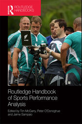 Routledge Handbook of Sports Performance Analysis by Tim McGarry