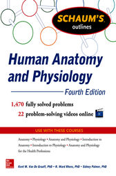 Schaum's Outline of Human Anatomy and Physiology by Kent Van de Graaff