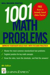 1,001 Math Problems by LearningExpress LLC