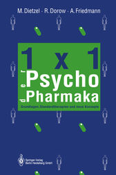1×1 der Psychopharmaka by Margot Dietzel