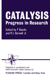 Catalysis Progress in Research by Fred Basolo